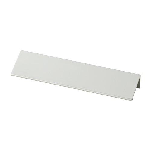 Liberty Hardware Modern Edge 5-1/16 Inch Center to Center Aluminum Finger Pull P31674-AL-C