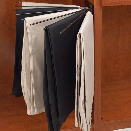 Fan Pant Rack - Chrome <small>(#CPRF-16CR-2)</small>