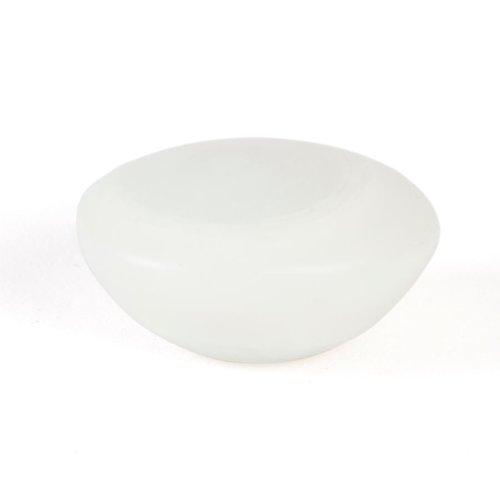 R. Christensen Geo 1-1/2 Inch Diameter Opal White Cabinet Knob 9776-7000-P