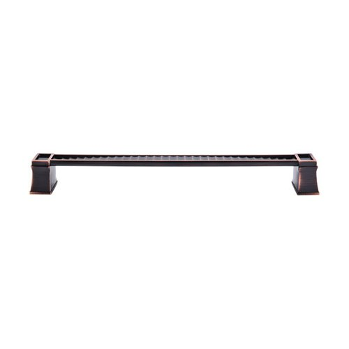 Top Knobs Great Wall 12 Inch Center to Center Tuscan Bronze Appliance Pull TK189TB