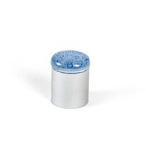 R. Christensen Aqua 3/4 Inch Diameter Blue Cabinet Knob 9654-1000-C