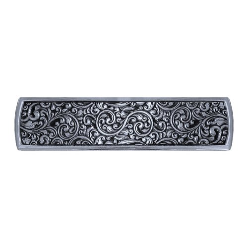Notting Hill Classic 3 Inch Center to Center Brite Nickel Cabinet Pull NHP-659-BN