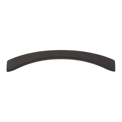 Sleek 5-1/16 Inch Center to Center Modern Bronze Cabinet Pull <small>(#A881-MB)</small>