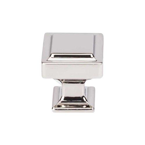 Top Knobs Transcend 1-1/8 Inch Diameter Polished Nickel Cabinet Knob TK701PN
