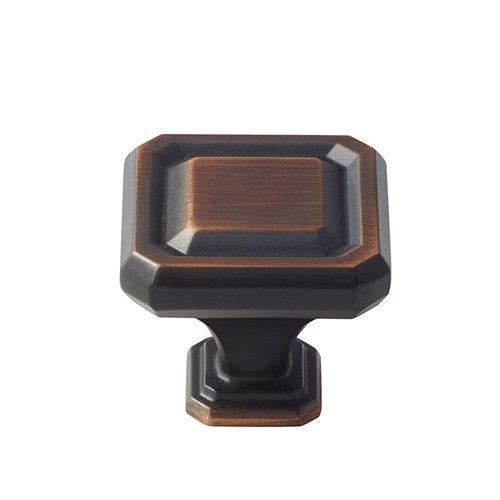 Amerock Wells 1-1/2 Inch Diameter Oil Rubbed Bronze Cabinet Knob BP36547ORB