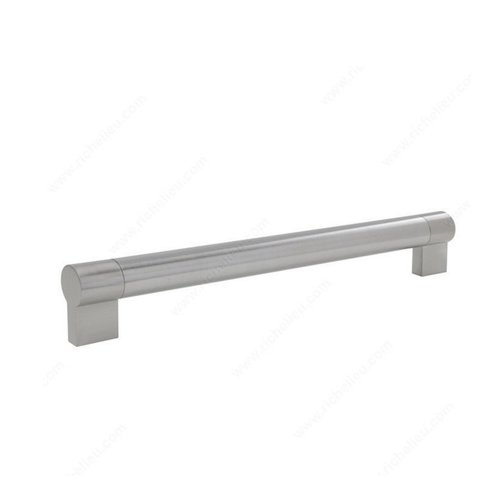 Richelieu Bar Pulls 17-5/8 Inch Center to Center Brushed Nickel Cabinet Pull BP500448195