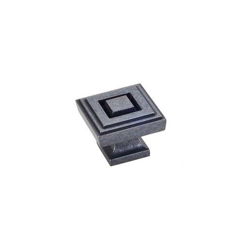 Jeffrey Alexander Delmar 1-1/4 Inch Diameter Gun Metal Cabinet Knob 585L-DACM