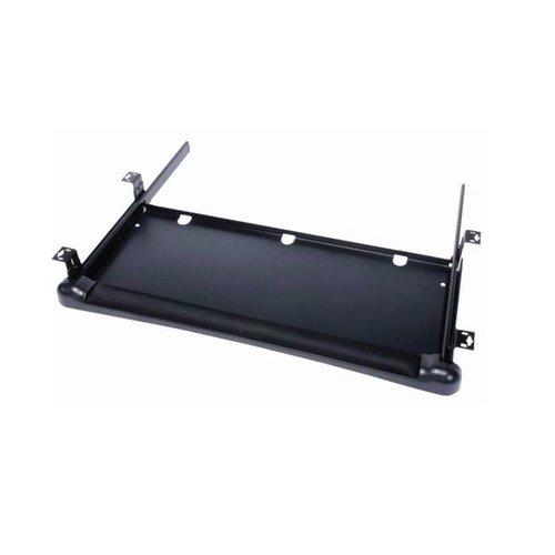Knape and Vogt KD-1000 Adjustable Keyboard Tray - Black KD-1000