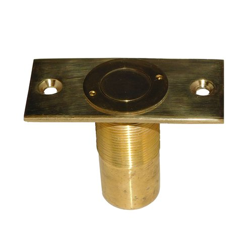 "Don-Jo Dust Proof Strike 2-7/8"" X 2-1/4"" Bright Brass 1570-605"