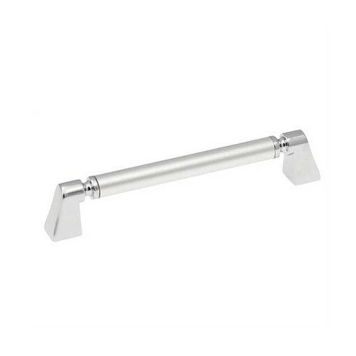 Hickory Hardware Dew 5-1/16 Inch Center to Center Frosted Chrome Cabinet Pull P3698-FCH