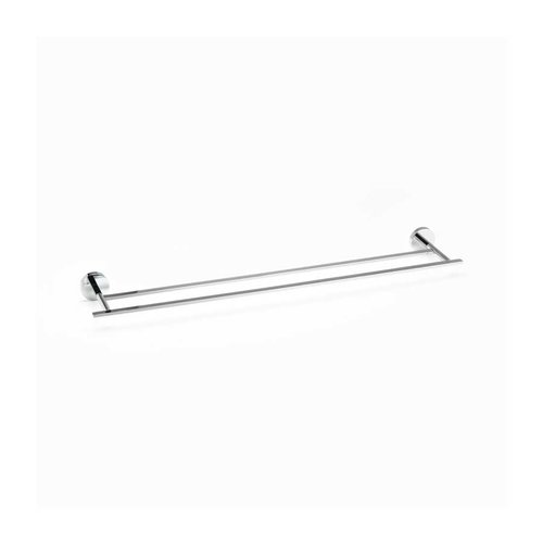 "R. Christensen 24"" Double Towel Bar Polished Chrome 6222-3026-P"