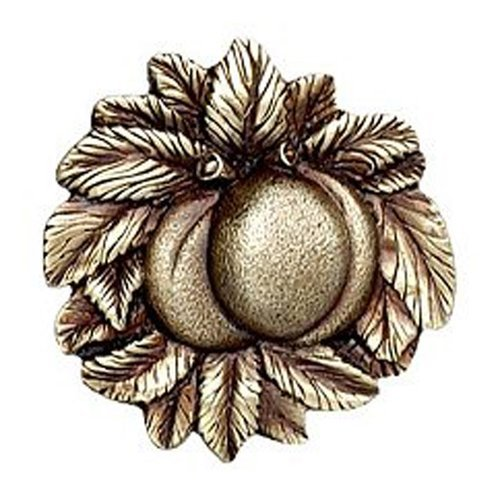 Notting Hill Kitchen Garden 1-5/8 Inch Diameter Antique Brass Cabinet Knob NHK-154-AB