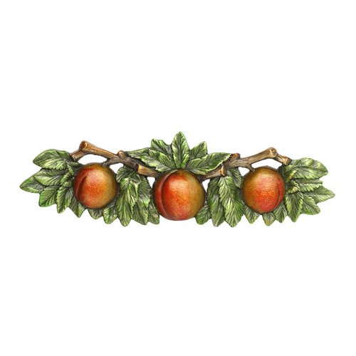 Notting Hill Kitchen Garden 3 Inch Center to Center Pewter Hand Tinted Cabinet Pull NHP-654-PHT