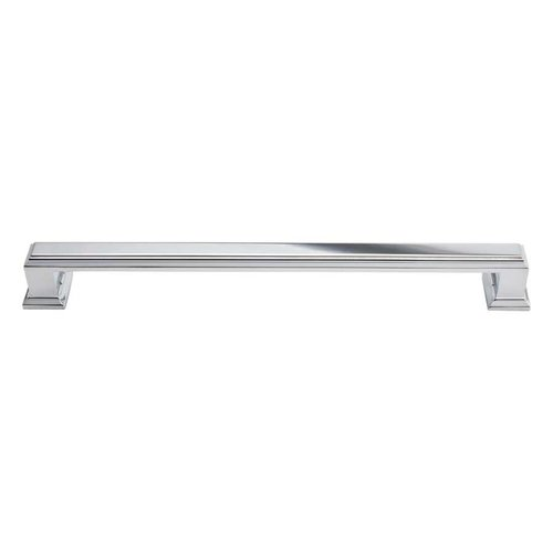 Atlas Homewares Sutton Place 7-9/16 Inch Center to Center Polished Chrome Cabinet Pull 293-CH