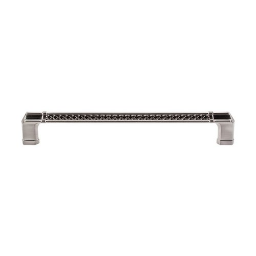 Top Knobs Tower Bridge 18 Inch Center to Center Brushed Satin Nickel Appliance Pull TK209BSN