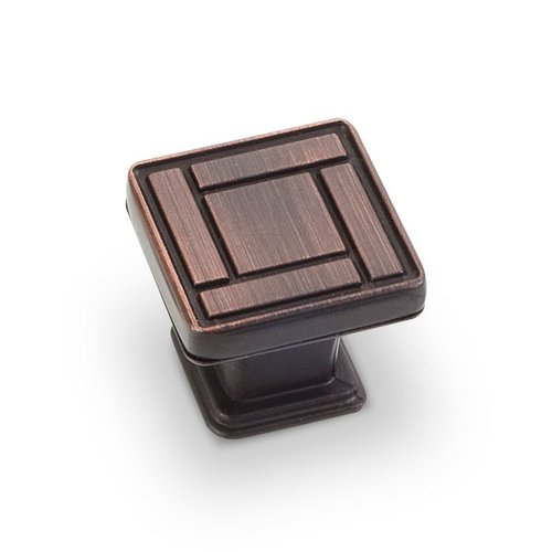 Rochester 1-1/8 Inch Diameter Dark Brushed Antique Copper Cabinet Knob <small>(#155DBAC)</small>