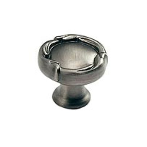 Schaub and Company French Farm Designs 1-5/16 Inch Diameter Antique Nickel Cabinet Knob 260-AN