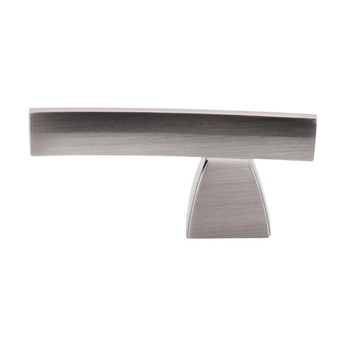 Top Knobs Sanctuary 2-1/2 Inch Length Brushed Satin Nickel Cabinet Knob TK2BSN