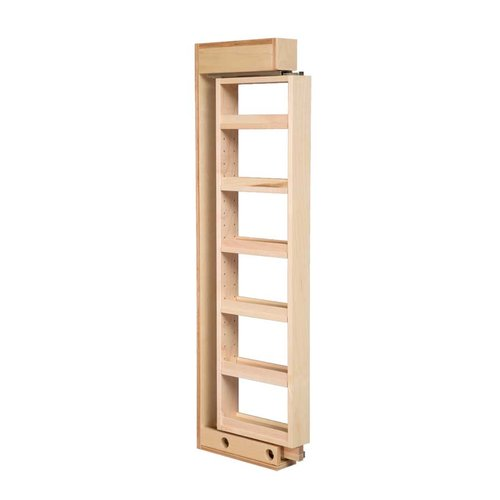 Century Components Wall Filler with 5 Adjustable Shelves 6 inch Wide WCF642PF