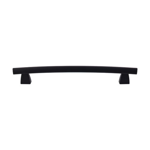 Top Knobs Appliance Pull 12 Inch Center to Center Flat Black Appliance Pull TK7BLK