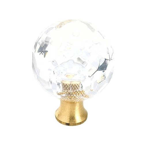 Amerock Knob 1-3/16 inch Diameter Crystal BP731CS