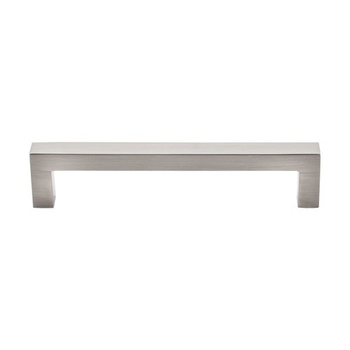 Asbury 5-1/16 Inch Center to Center Brushed Satin Nickel Cabinet Pull <small>(#M1158)</small>