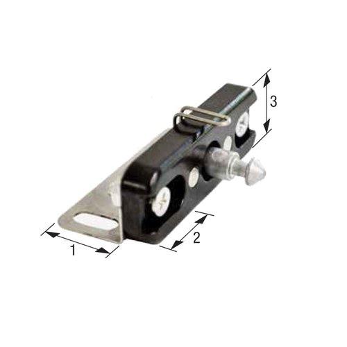 Fulterer FPS 3D Adjustability Latch 0031600
