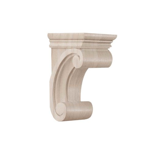Brown Wood Small Madeline Corbel Unfinished Hard Maple 01607115HM1