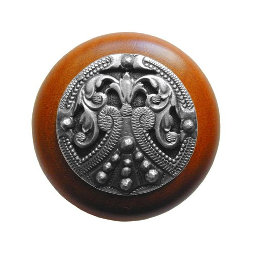 Notting Hill Olde Worlde 1-1/2 Inch Diameter Antique Pewter Cabinet Knob NHW-701C-AP