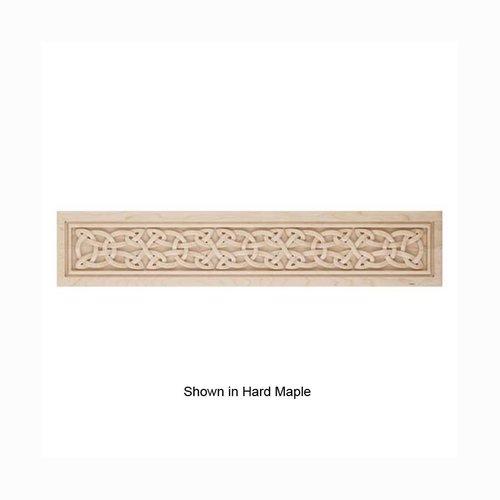 Brown Wood Large Gaelic Framed Onlay Unfinished White Oak 01832728WK1