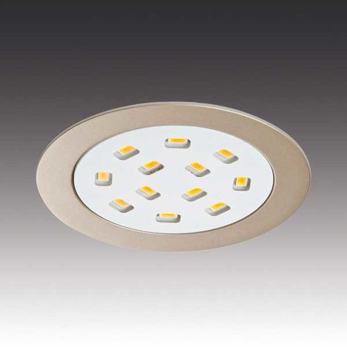 Hera Lighting R68-LED Stainless Spotlight - Warm White R68-LED/SS/WW
