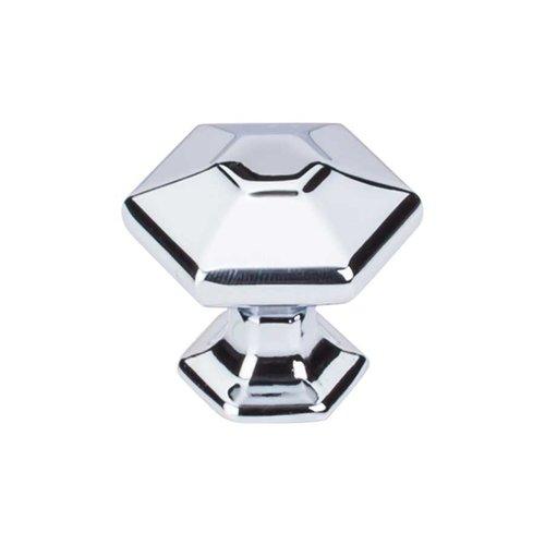 Top Knobs Transcend 1-1/8 Inch Diameter Polished Chrome Cabinet Knob TK712PC