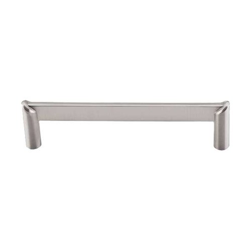 Top Knobs Sanctuary II 5 Inch Center to Center Brushed Satin Nickel Cabinet Pull TK240BSN