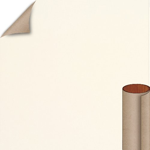 Nevamar Mallow White Textured Finish 4 ft. x 8 ft. Countertop Grade Laminate Sheet S7038T-T-H5-48X096