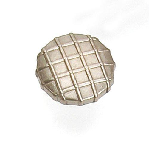 Laurey Hardware Midtown 1-1/4 Inch Diameter Satin Nickel Cabinet Knob 39428