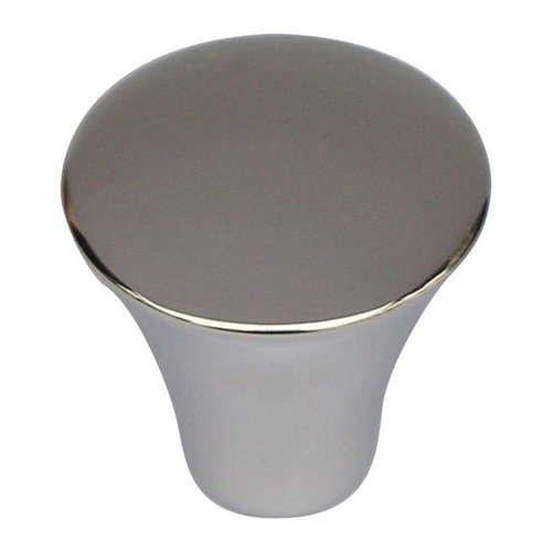 Atlas Homewares Fluted 7/8 Inch Diameter Polished Stainless Steel Cabinet Knob A855-PS