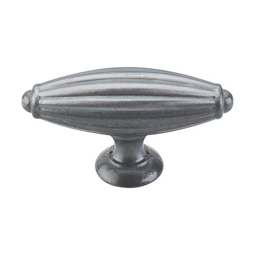 Top Knobs Tuscany 2-7/8 Inch Length Pewter Light Cabinet Knob M157
