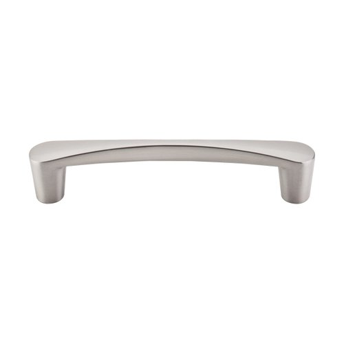 Nouveau III 5-1/16 Inch Center to Center Brushed Satin Nickel Cabinet Pull <small>(#M1179)</small>