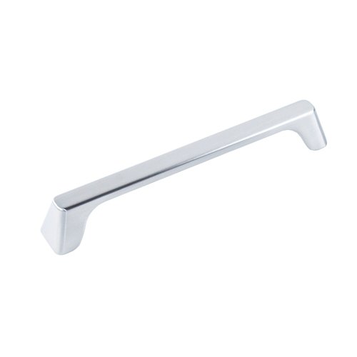 Century Hardware Raw Authentic Pull 6-5/16 inch Center to Center Brushed Nickel 20449A-15