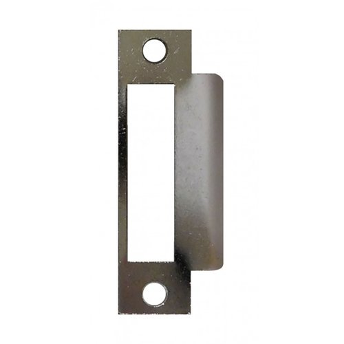 "Don-Jo Mortise Strike 4-7/8"" X 1-1/4"" Silver Coated Steel MST-261-SL"