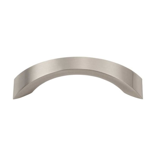 Sleek 3 Inch Center to Center Brushed Nickel Cabinet Pull <small>(#A880-BN)</small>