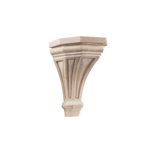 Brown Wood Pinnacle Medium Corbel Unfinished Hard Maple 01607216HM1