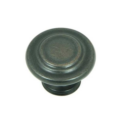 Stone Mill Hardware Princeton 1-1/4 Inch Diameter Oil Rubbed Bronze Cabinet Knob CP1398-OB