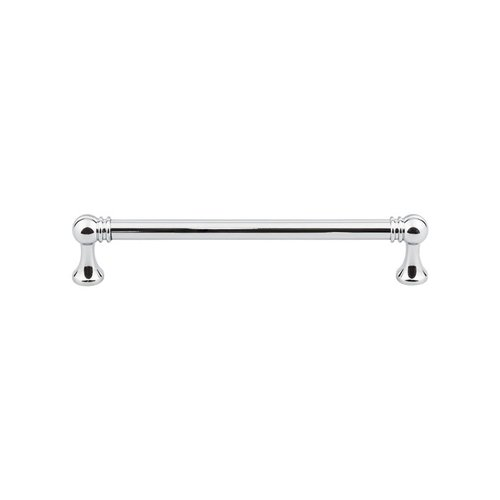 Top Knobs Serene 6-5/16 Inch Center to Center Polished Chrome Cabinet Pull TK804PC