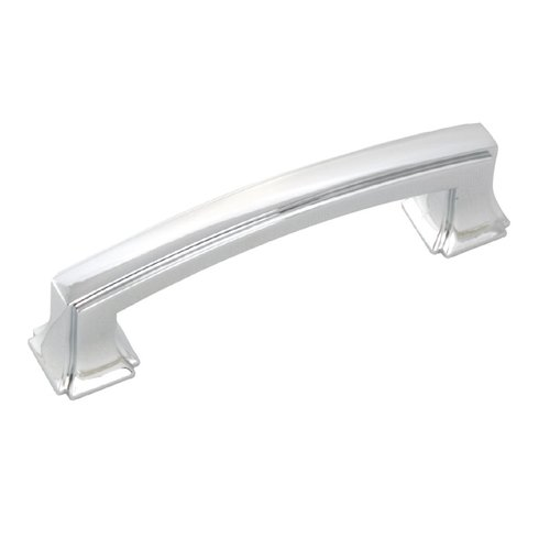 Hickory Hardware Bridges 3 Inch Center to Center Chrome Cabinet Pull P3231-CH