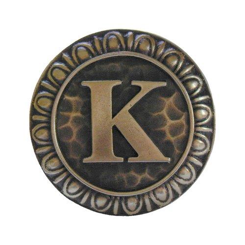 Notting Hill Jewel 1-3/8 Inch Diameter Antique Brass Cabinet Knob NHK-190-AB