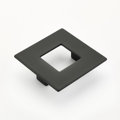 Schaub and Company Finestrino 2-1/2 Inch Center to Center Matte Black Cabinet Pull 443-MB