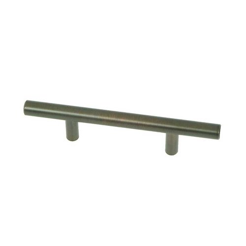 Stone Mill Hardware Stockholm 3 Inch Center to Center Oil Rubbed Bronze Cabinet Pull CP4003-OB