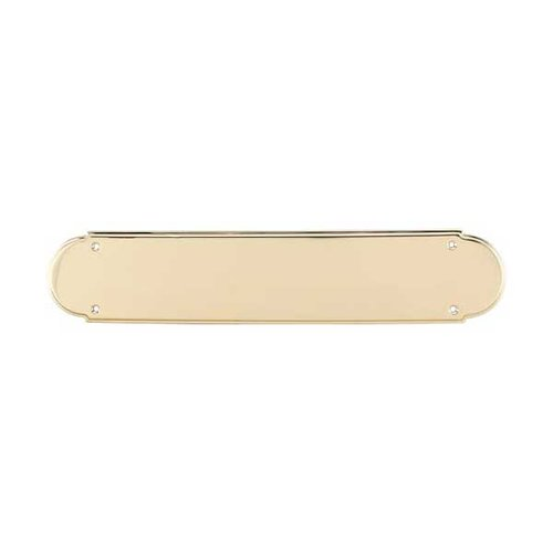 Top Knobs Appliance Pull 15 Inch Length Polished Brass Back-plate M900