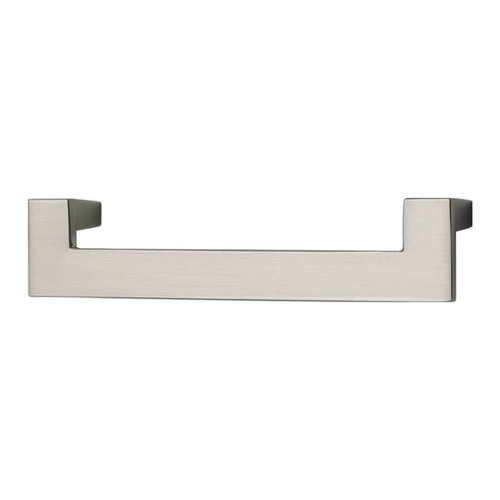 Atlas Homewares U-Turn 5-1/16 Inch Center to Center Brushed Nickel Cabinet Pull A847-BN